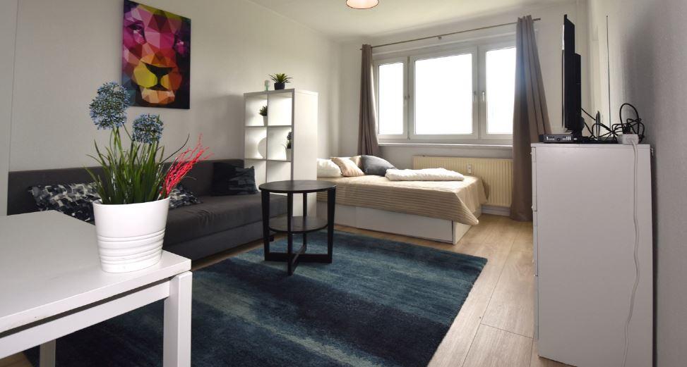 Möblierte Wohnung in Leipzig