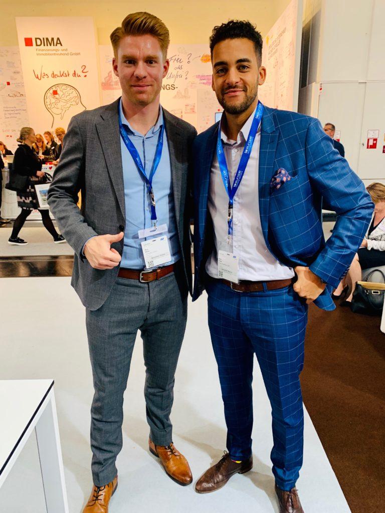 Treffen mit Kühle Immobilien auf der Expo REAL in München