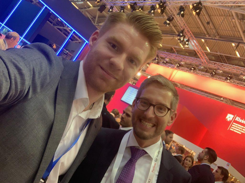 Ex-Kollege von PwC Real Estate auf der Expo REAL in München
