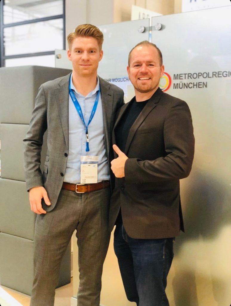 Treffen mit dem Zeitmillionär Jochen Mulfinger auf der Expo REAL in München