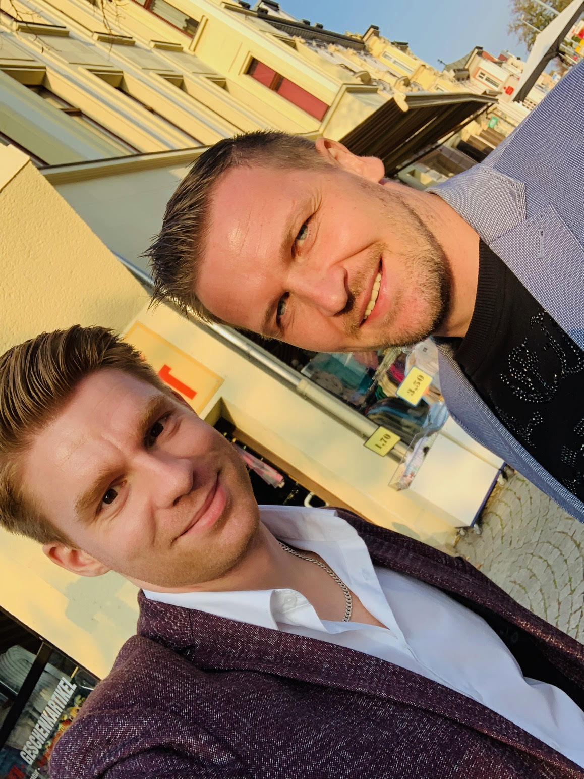 Selfi mit Thomas vor Immobilien Co-Investment