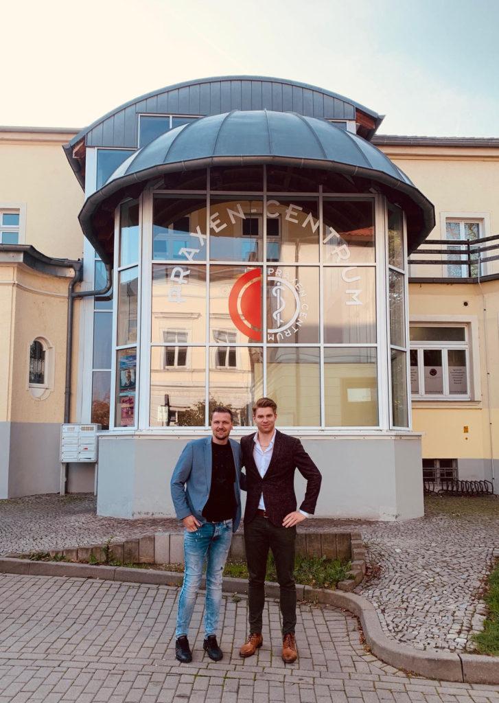 Entwicklung des Praxen-Centrums in Bernburg