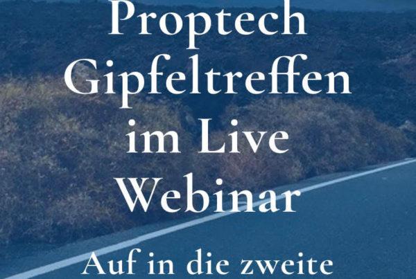 PropTech Gipfeltreffen im Live Webinar