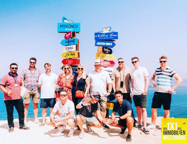 Gruppenfoto Immobilien Mastermind Nordzypern 2020