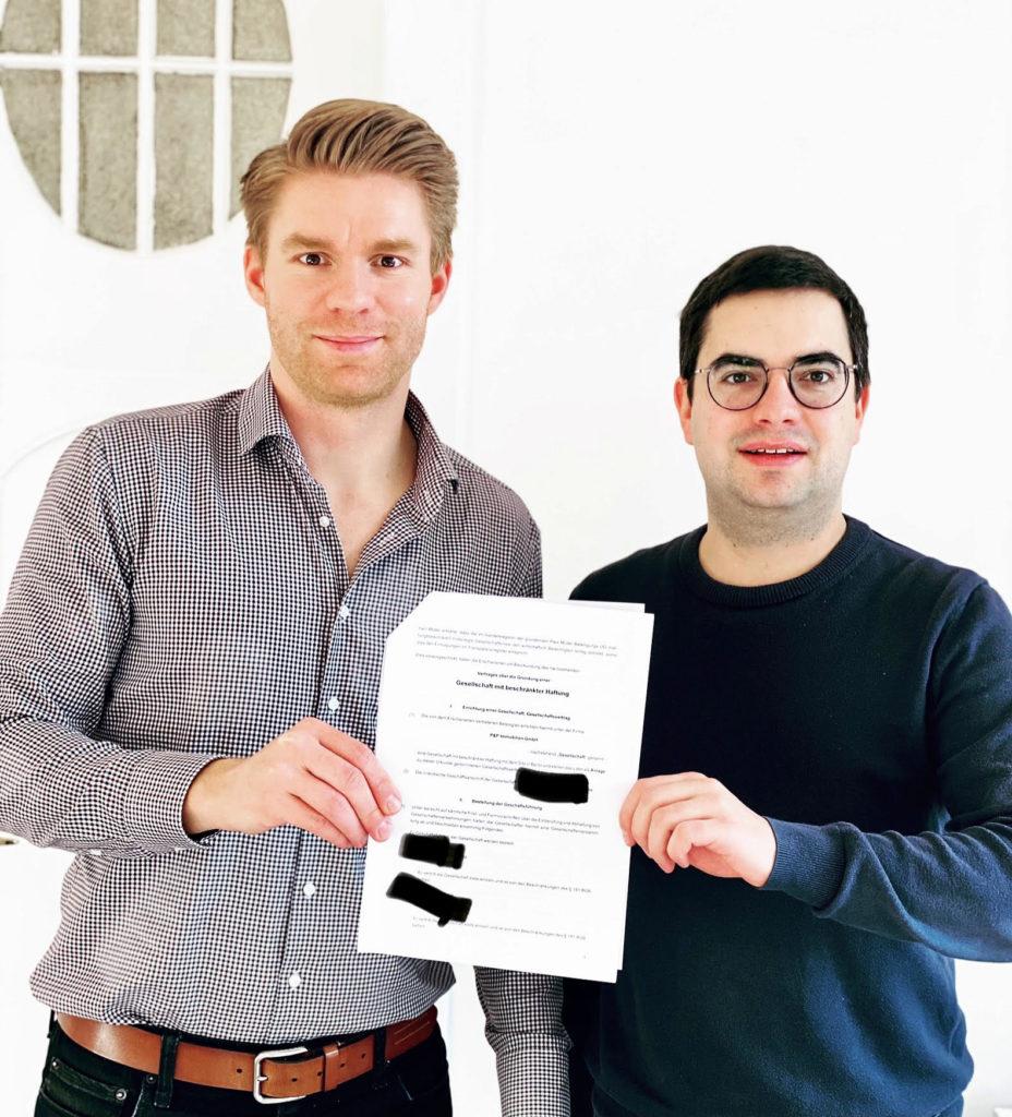 Gründung einer vermögensverwaltenden GmbH - P&P Immobilien GmbH